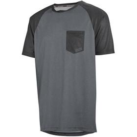 IXS Flow Fietsshirt korte mouwen Heren grijs